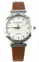 E-B20.6 Trendy Watch with PU Strap Brown 25MM