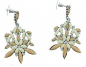 D-E25.5 Earrings Crystals 6cm