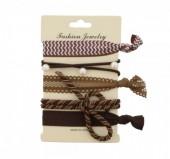A-F4.1  Ibiza elastic bracelet - hair  H002-030