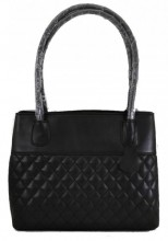 T-I6.2 BAG-1017 Luxury Leather Bag 40x27x11cm Black