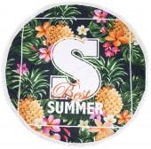 Y-F5.4 Roundie Beach Towel 150cm Best Summer