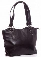 S-C6.3 BAG-553 Leather Bag 40x28x11cm Black
