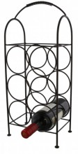 Z-A1.3 Metal Wine Rack for 6 Bottles 52cm Black
