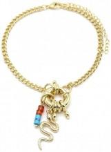 E-E19.2  BN2019-024G Metal Bracelet Snake Gold