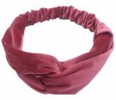 S-C1.2 H305-060A2 Velvet Headband Purple