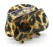 X-J4.2 H413-004 Acrylic Hair Clip Leopard