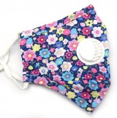 T-G4.1 GM046-010G Face Mask - Individually Packed with room for Filter Flowers