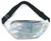 Y-A2.4 BAG524-004B Waist Bag Metallic White