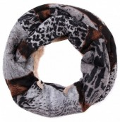 X-L2.1 Col-Snood with Leopard Print