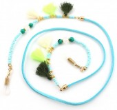 B-D4.1 GL245 Trendy Sunglass Cord with Beads and Tassels