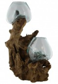 P-A1.1   Wood With Glass Double 1pcs