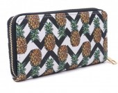 T-K3.1 WA008-005 Wallet with Pineapples 19x10cm