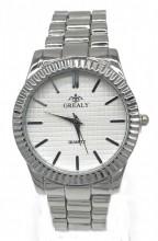 C-C19.2 W421-003A Quartz Metal Watch 37mm Silver