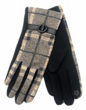 R-L3.1 GLOVE403-072B Checkered Glove Grey