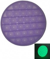 Pop It Glow in the Dark - Purple