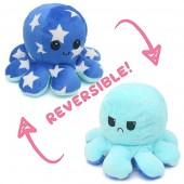Y-F4.5 T2109-001 Reversible Octopus Blue Stars