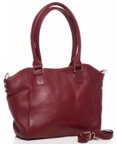 T-O5.2 BAG-788 Luxury Leather Bag 39x24x10cm Red