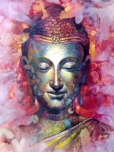 R-M3.1 X239 Diamond Painting Set Buddha 40x30cm