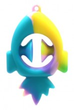 T-E2.2  T2130-001E Pop it Snapper Rainbow