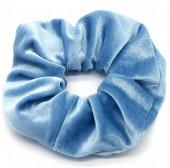 S-B5.3 H305-009A7 Velvet Scrunchie Blue