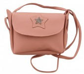 S-E3.3  BAG015-005 Shoulder Bag Star Pink 20x16x6cm