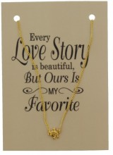 F-D3.7 Giftset with Necklace Gold Skull