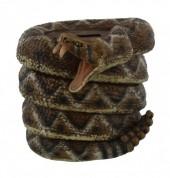 T-K7.1 #23126 Saving Jar Rattlesnake 13x13x10cm Polyester