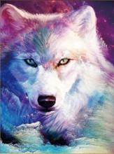 S-B6.1 Q013 Diamond Painting Set Wolf 30x20cm