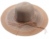 Q-A2.1 HAT504-001A Hat Mixed Colors Brown