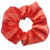 S-A2.1 H305-009A2 Velvet Scrunchie Red