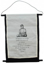 S-I2.4 Cotton Banner Budha XL 74x43cm