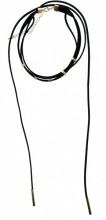 B-B20.3 Choker Necklace Bars Gold 37-42cm