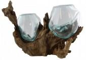 P-E4.3 Glass on Wood Double 25x35