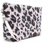 Q-H4.1  BAG200-001 Make Up Bag with Animal Print 28x17x5.8cm