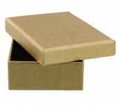 S-H3.4 Giftbox for Necklace or Ring 10x7.5x3cm Gold