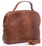 T-A5.1 BAG-902 Luxury Leather Bag 35x30x15cm Brown