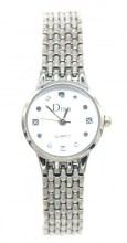 A-F8.2 W523-007 Quartz Watch Metal 22mm Silver