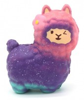 Squishy Toy Space Lama Large