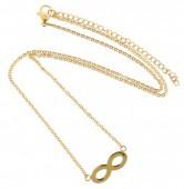 C-C3.3  41-48cm Stainless Steel Gold N099-001B Infinity