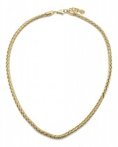 A-D7.3 N126-007 Stainless Steel Necklace Gold