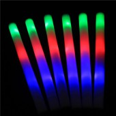LED Foam Sticks with 3 Flashing Programs - 200pcs