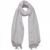 T-D4.1 Large Woven Scarve With Glitters 140x140cm Light Pink