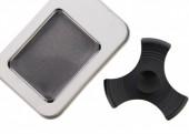 Aluminium Fidge Spinner in Giftbox Black