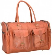 Z-D3.5 BAGI-035 Luxury Leather XL Travel-Sporting Bag 60x40x30cm