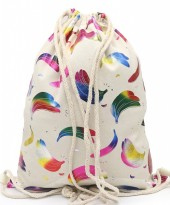 Y-C3.4 BAG542-008D Backpack Shiny Bananas