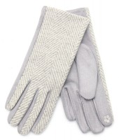 R-D7.2  GLOVE403-096D Gloves Grey