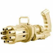 Z-E1.2 T2134-001 Electric Gatling Bubble Gun - Gold