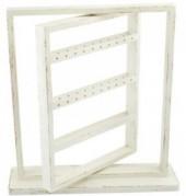 Wooden Jewelry Stand 40.5x38x10cm