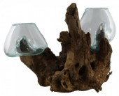 P-B3.4  Wood With Glass Double 1pcs