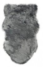 Y-B1.5 FM111-001 Soft Sheepskin Rug Fake Fur 100x60cm Grey